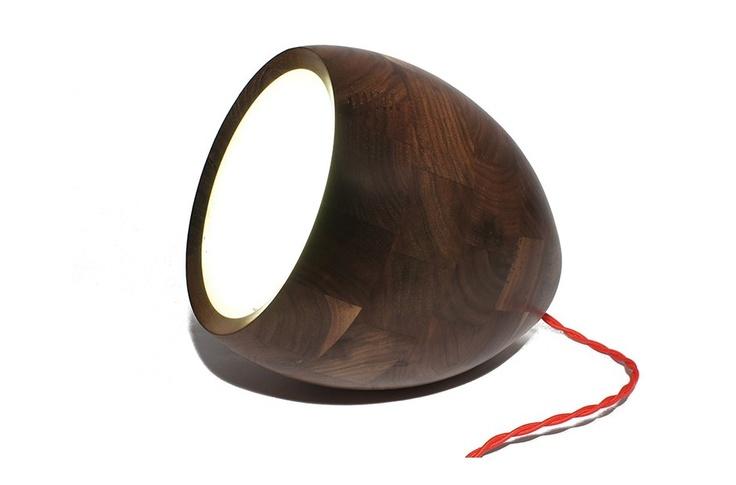 20 cm Schwarznussleuchte - Rt von Obe & Co Design