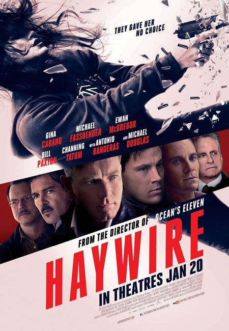 Haywire - Really bad..: Film, Movie Posters, Toda Prova, Gina Carano, Action Movie, Haywire 2011, Steven Soderbergh, Favorite Movie, Movie Trailers