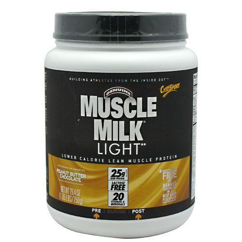"""CytoSport has been overwhelmed by the amazing success of Muscle Milk. If there has been one repeated request, it's """"Make Muscle Milk with less fat and fewer calories, but keep the SAME GREAT MUSCLE MI"""