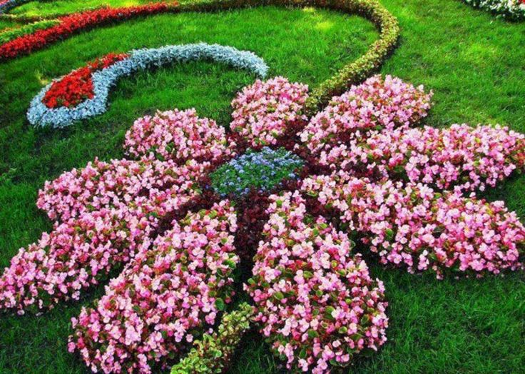 17 best ideas about front flower beds on pinterest for Beautiful flower beds