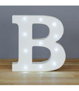 "Letra luminosa ""B"""