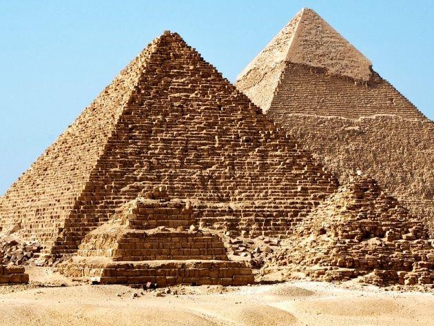 Египетские пирамиды, Гиза