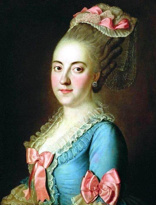 Портрет графини Л.Н. Кушелевой. 1770-е