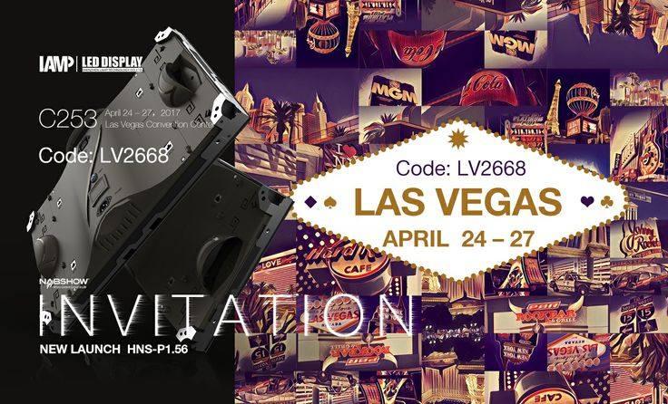 4.24-27, Las Vegas Convention Center, Something amazing is waiting for you, see you in our booth! #C253
