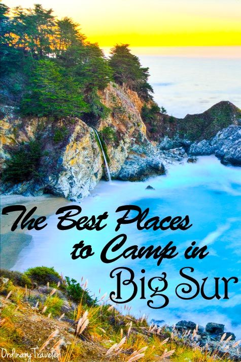 The Best Places to Camp in Big Sur, CA