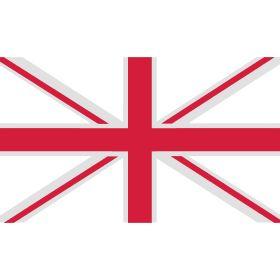 union jack - Union Jack ist die populäre Bezeichnung der Nationalflagge des Vereinigten Königreichs Großbritannien und Nordirland, welche offiziell Union Flag heißt. Hier nur die weißen und roten Streifen.