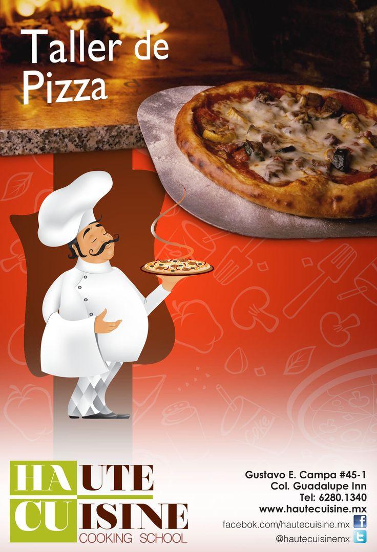 """¿Junta de maestros, y tus hijos se quedan en casa? mejor que vengan a nuestro """"Taller de Pizza"""" 27 de junio de 11:00 AM a 1:00 PM Informes: contacto@hautecuisine.mx Tel:62801340"""