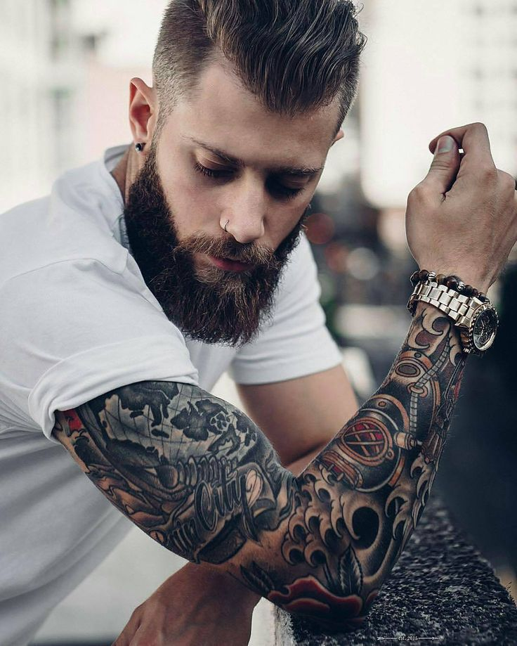 19 best male beards with tattoo styles images on pinterest for Red beard tattoo