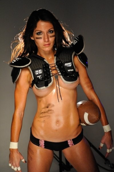 from Draven naked female american football players