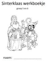 Sinterklaaswerkboekje voor groep 5/6