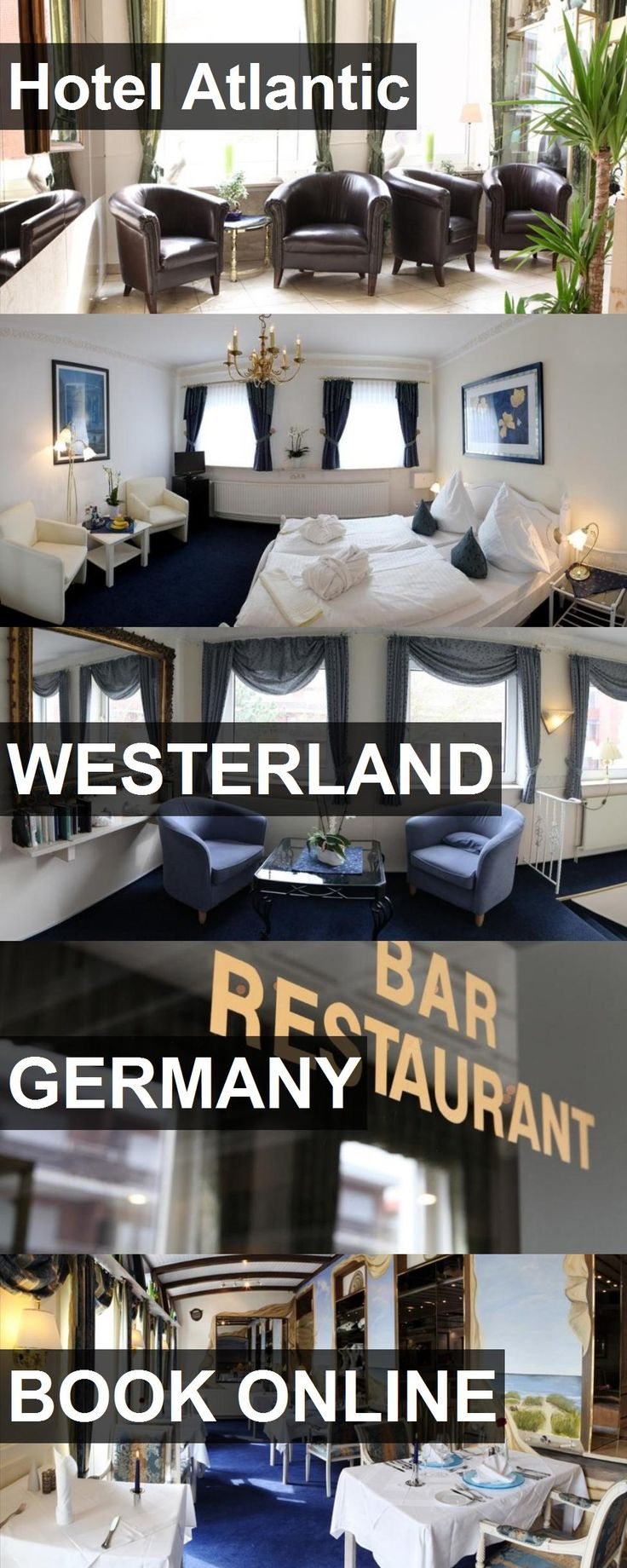 Hotel Atlantic in Westerland, Germany. For more information, photos, reviews and best prices please follow the link. #Germany #Westerland #travel #vacation #hotel