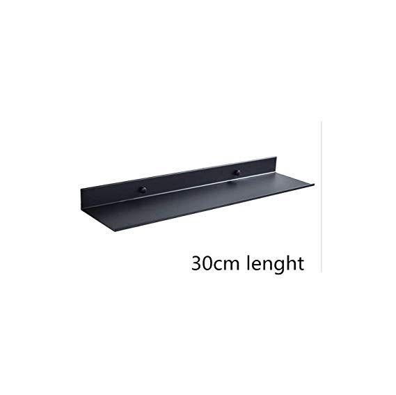 Amazon 35 To 53 Space Aluminum Black Bathroom Shelves Kitchen