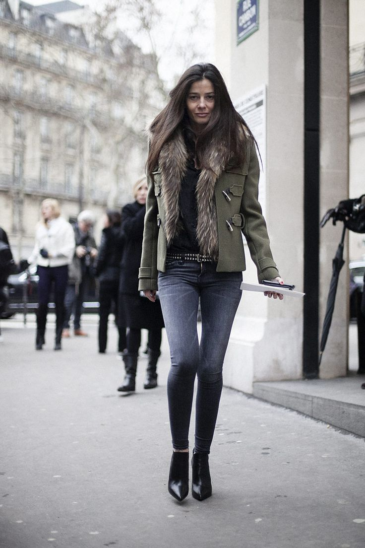 Street Style Paris Fashion Week Haute Couture SS13:stylist Bárbara Martelo and her 'back to basics'.