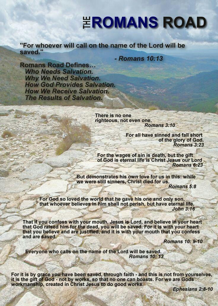 Best 25+ Roman road to salvation ideas on Pinterest ...