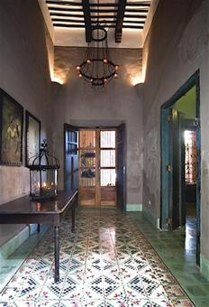 Loving These Tile Floors In This Restored Home In Merida
