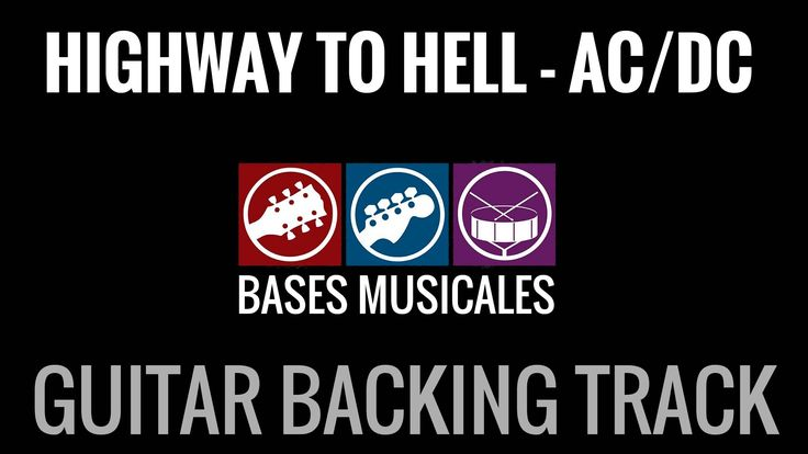Highway To Hell Backing track with vocals pista acompañamiento