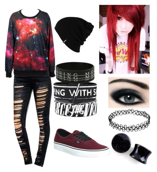 Yes - Galaxy Emo by mrosep on Polyvore featuring polyvore, fashion, style, Levi's, Vans, Patagonia and clothing