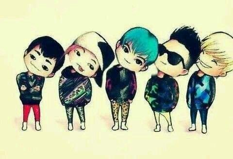 BIGBANG cute