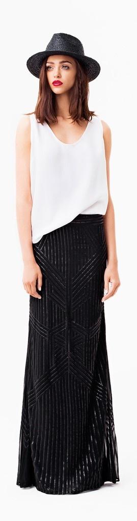 Rachel Zoe Resort 2014, I want this! especially the skirt