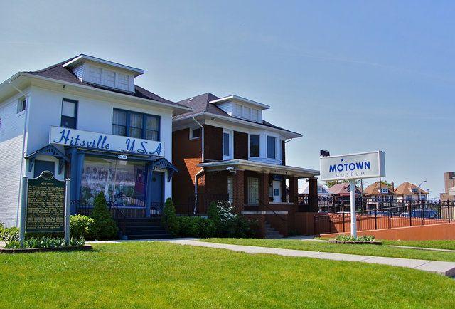 Motown Museum in Detroit, MI