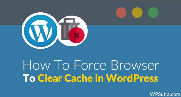 How To Force Browser to Clear Cache in WordPress // #WordPress