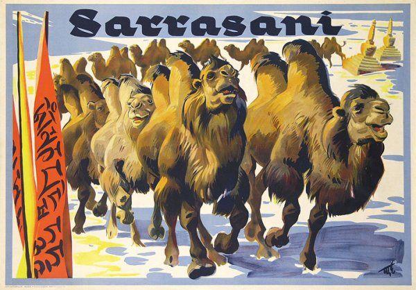 Circus Sarrasani (Susanlenox) Tags: art illustration vintage germany advertising poster circus kunst plakat zirkus sarrasani reklamen