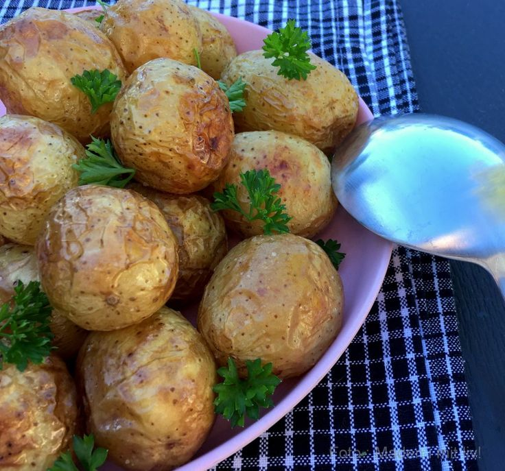 Små ristede kartofler…