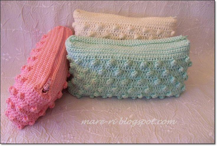 crochet bags. Neceser a crochet