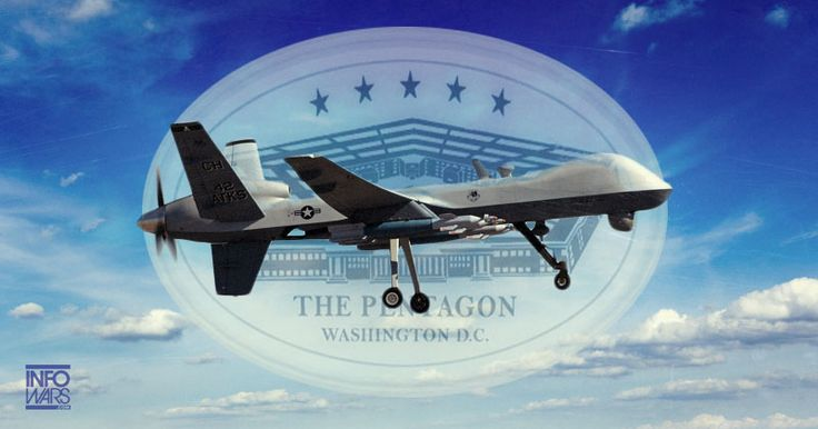 PENTAGON ADMITS IT USES MILITARY DRONES TO SPY ON AMERICANS Posse Comitatus Act prohibits the military from operating on American soil