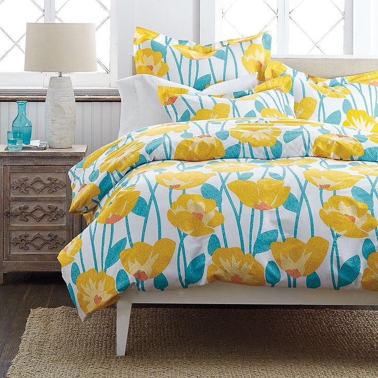 Addie Percale Duvet Cover Doesn T This Scream Happy