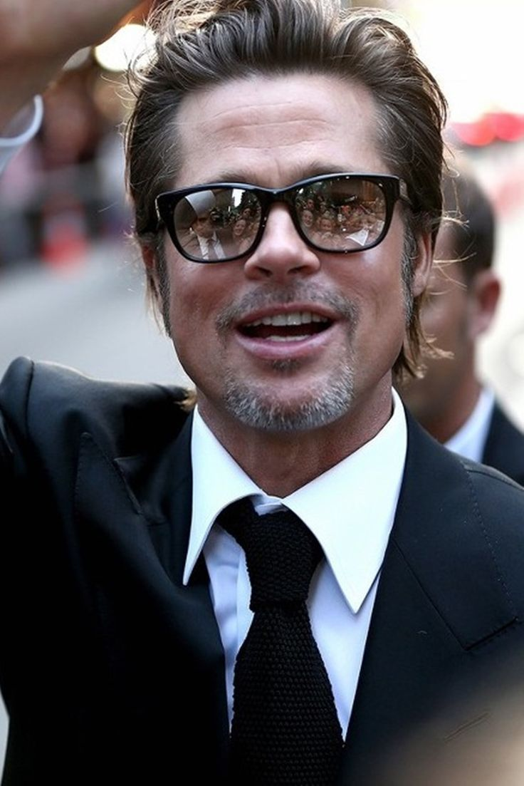 Brad Pitt Brad Pitt Beautiful Boys Square Sunglasses Men