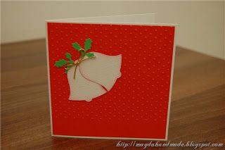 Felicitare de Crăciun MH006 / Christmas Greeting Card MH006