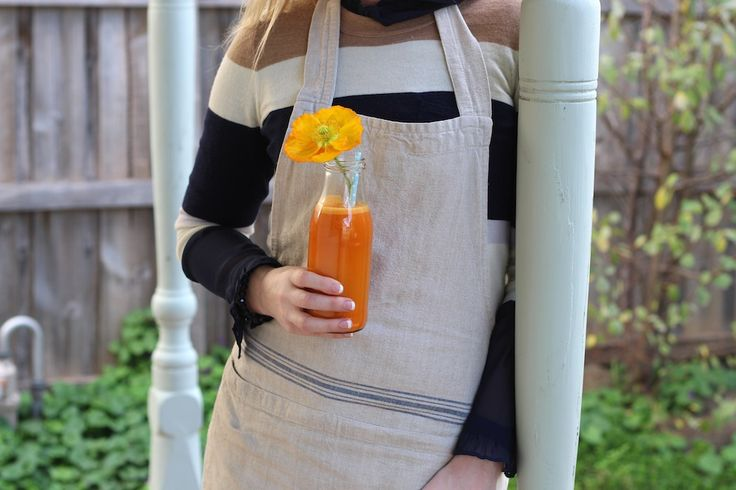 TOM Organic shared our Carrot Apple Ginger Immunity Juice from the pages of the eBook 'A Nourishing Morning' - The Holistic Ingredient.