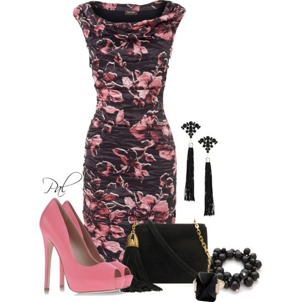 Cocktail Hour, created by pamlcs on Polyvore