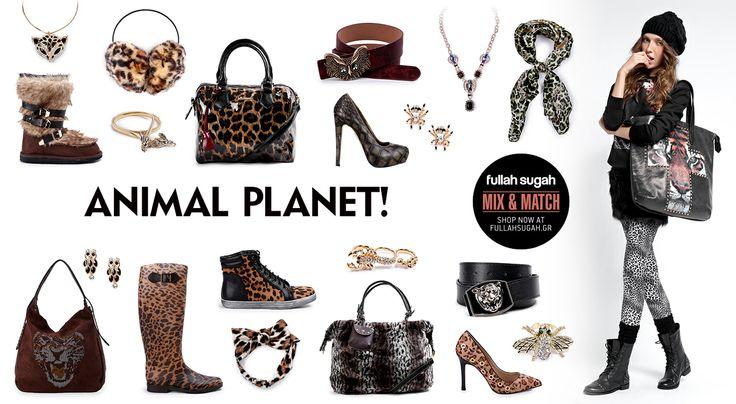 Mix & Match | Animal Planet! | http://fullahsugah.gr/ #MixAndMatch #FullahSugah