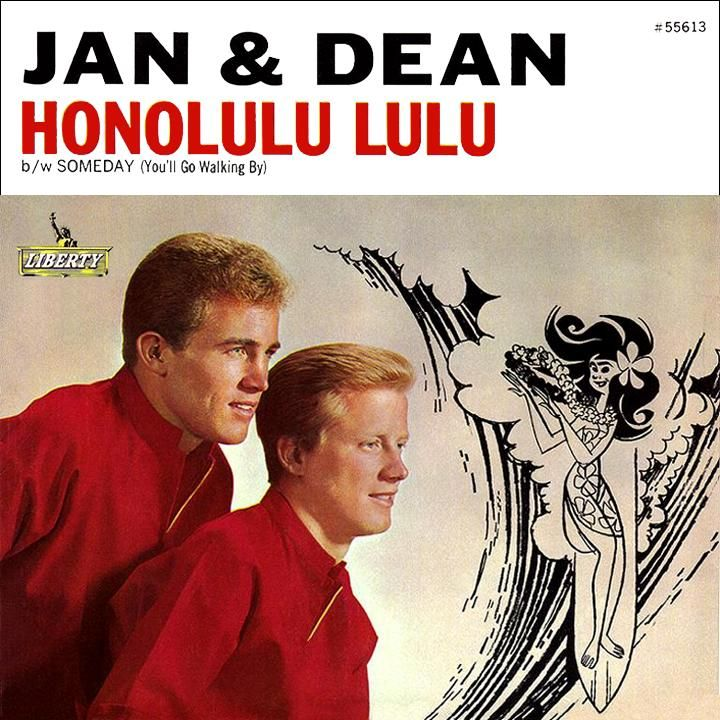 Jan and Dean Honolulu Lulu Liberty record