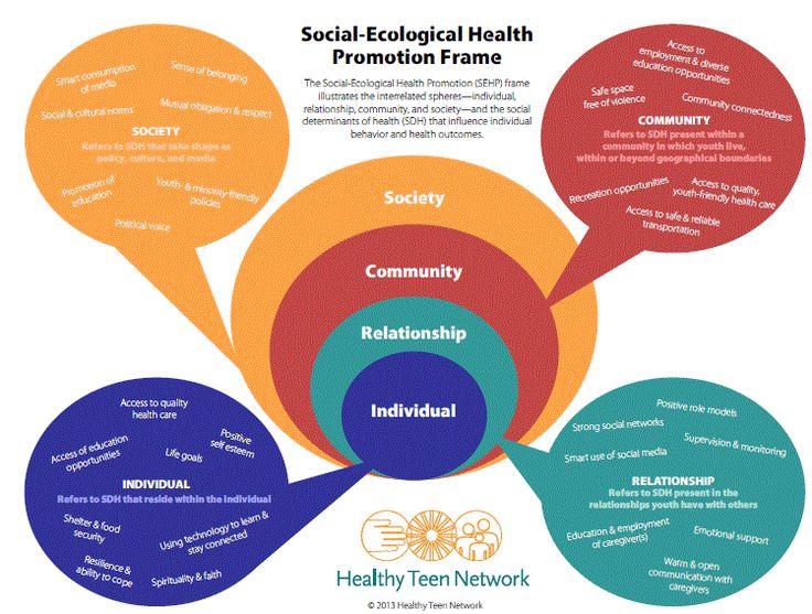 Social Determinants of Health - Healthy Teen Network