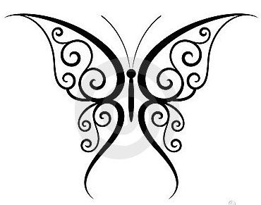 Just Butterfly Tattoos On Wrists | Butterfly Tattoo Design Ideas