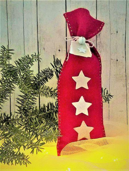 Filcowy woreczek - na prezent i do dekoracji - Kreatywny-Zakatek - Dekoracje