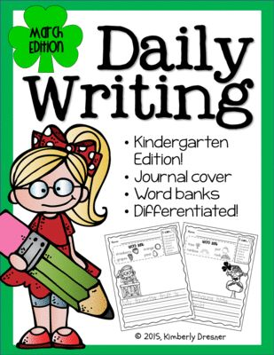 daily writing prompts interactive journal march edition
