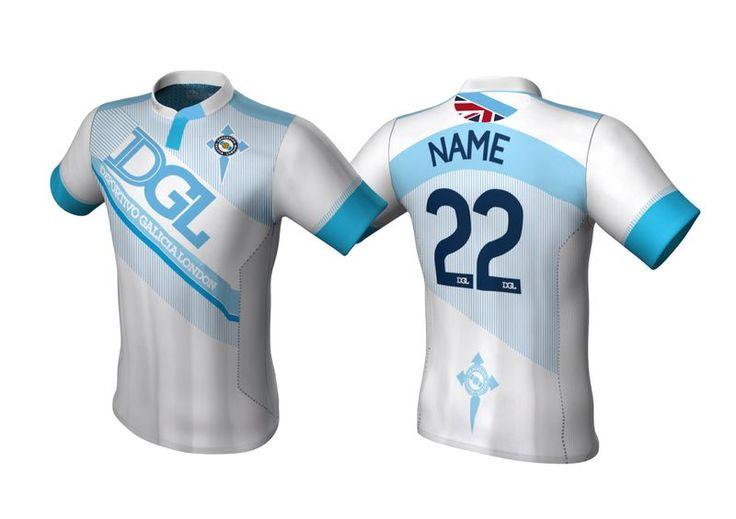 Camiseta 2º equipación, temporada 2014-2015. A la venta próximamente en http://www.omerchandising.com/en/list/category/deportivo_galicia_london