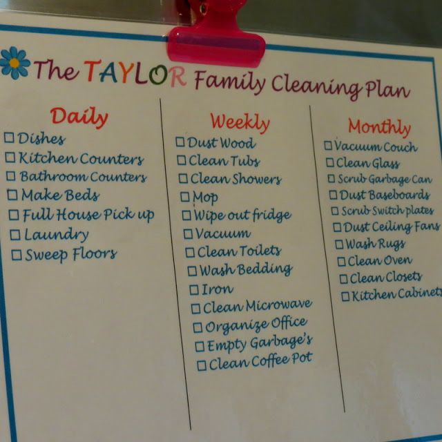 15 Spring Cleaning & Organizing Ideas - The Taylor House