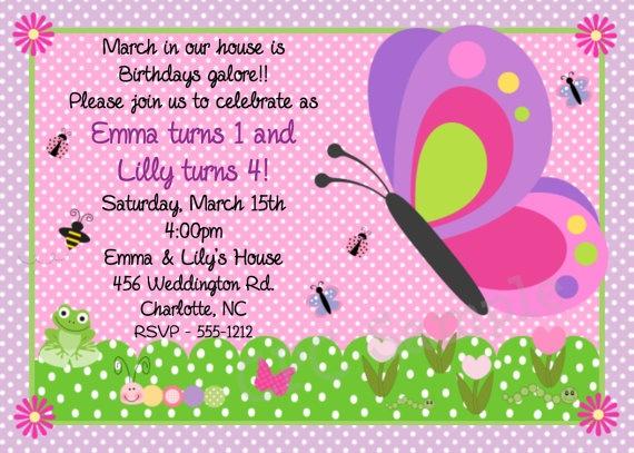 www.cutiepatootiecreations.com Butterfly Invitation