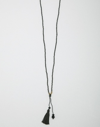 LKD Delicate Tassle Necklace - Jewellery - Storm