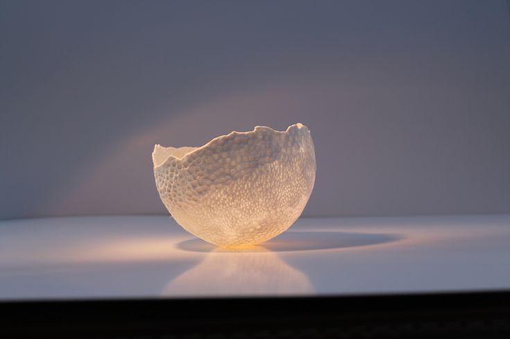 eigen creatie porselein gestookt tot 1260°C ( techniek cfr Guy Van Leemput)