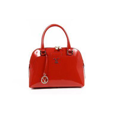Versace 19.69 Abbigliamento Sportivo SRL Ladies Handbag C151/52 Specchio Rosso