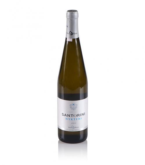 """Santo Wines"" White Wine Nykteri 750ml @ just 12.00€"