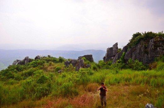 Pasir Pawon: One of its interesting spots is a rock formation that resembles a gate; the local residents believe it is a...