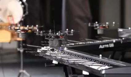 les drones prennent le contrôle du son!