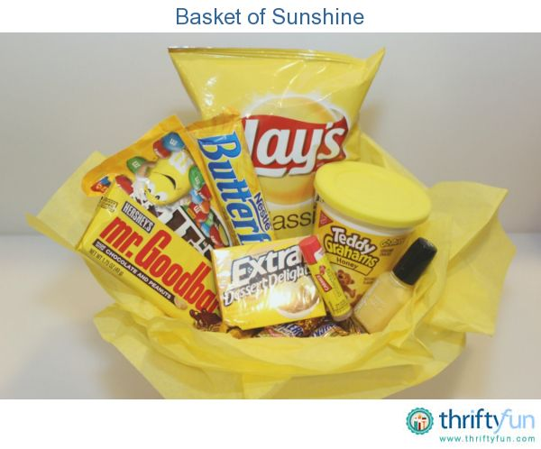 "This ""basket of sunshine"" is sure to brighten someone's day!"
